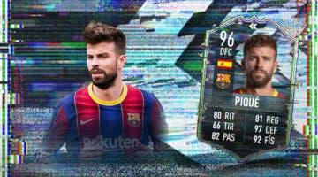 Imagen de FIFA 21: ¿Merece la pena Gerard Piqué Flashback? + Solución del SBC