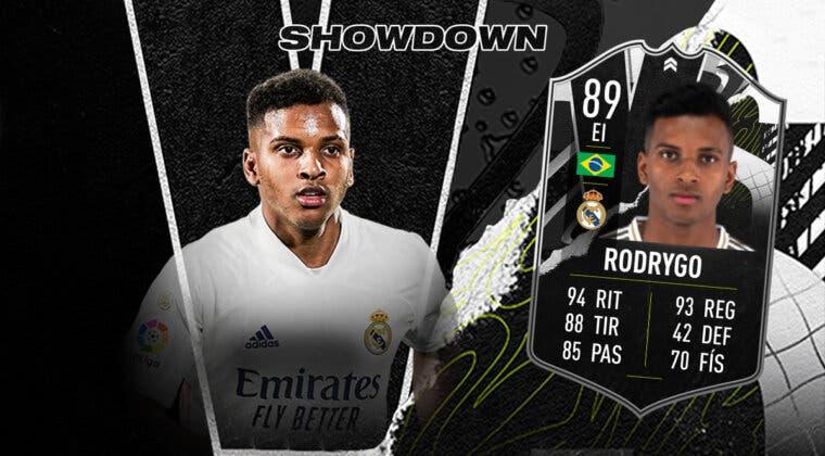 Imagen de FIFA 21: ¿Merece la pena Rodrygo Showdown? + Solución del SBC