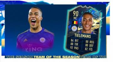 Imagen de FIFA 21: ¿Merece la pena Youri Tielemans TOTS? + Solución del SBC