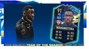 Imagen de FIFA 21: ¿Merece la pena Silas Wamangituka TOTS? + Solución del SBC