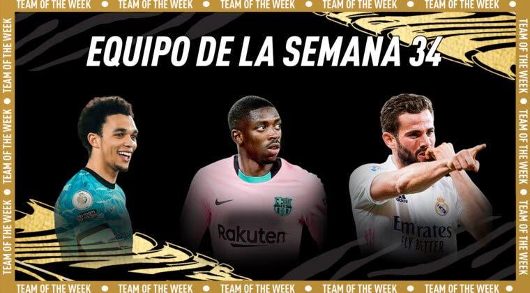Imagen de FIFA 21: este es el Equipo de la Semana (TOTW) 34 + Rodrigo Pinho TOTS Moments Estrella de Plata free to play