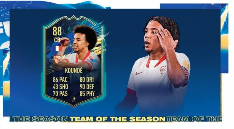 Imagen de FIFA 21: review de Jules Koundé TOTS. ¿Un central de nivel o demasiado endeble?