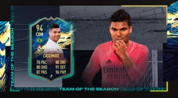 Imagen de FIFA 21: review de Casemiro TOTS. ¿Mejor que William Carvalho TOTS Moments?