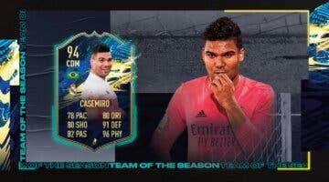 Imagen de FIFA 21: review de Casemiro TOTS. ¿Mejor que William Carvalho TOTS Moments?