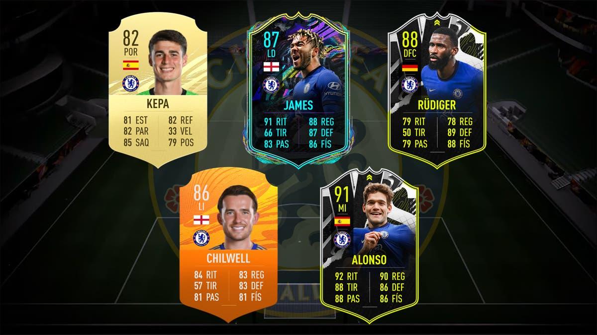 FIFA 21 Ultimate Team Plantilla Chelsea
