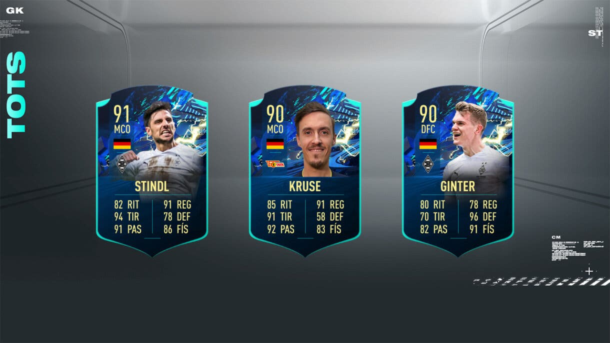 FIFA 21 Ultimate Team Predicción TOTS Bundesliga TOTS Moments