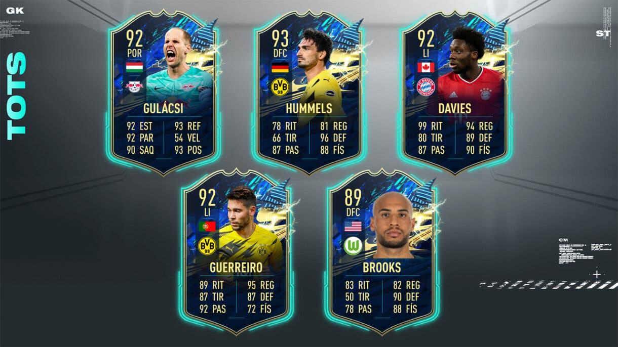 FIFA 21 Ultimate Team Predicción TOTS Bundesliga defensas