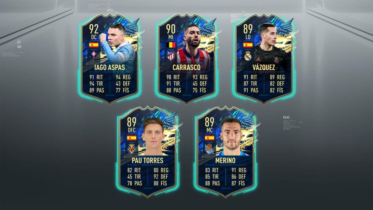 FIFA 21 Ultimate Team Predicción TOTS LaLiga Santander SBC o gratuitos