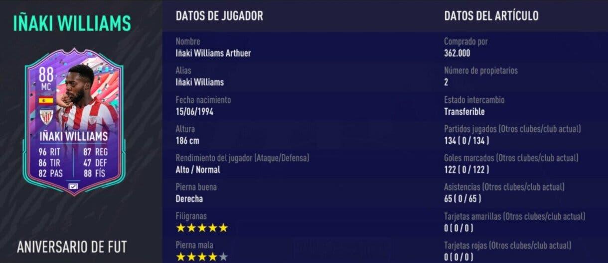 """FIFA 21 Ultimate Team explicación jugadores """"Primer Propietario"""" Academia de Ultimate Team 3"""