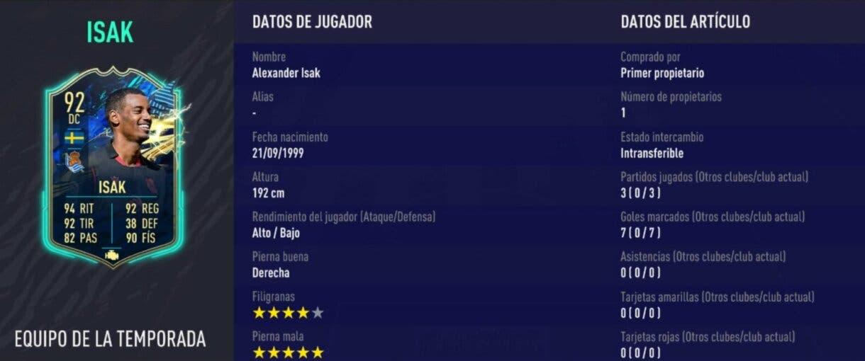 """FIFA 21 Ultimate Team explicación jugadores """"Primer Propietario"""" Academia de Ultimate Team 2"""