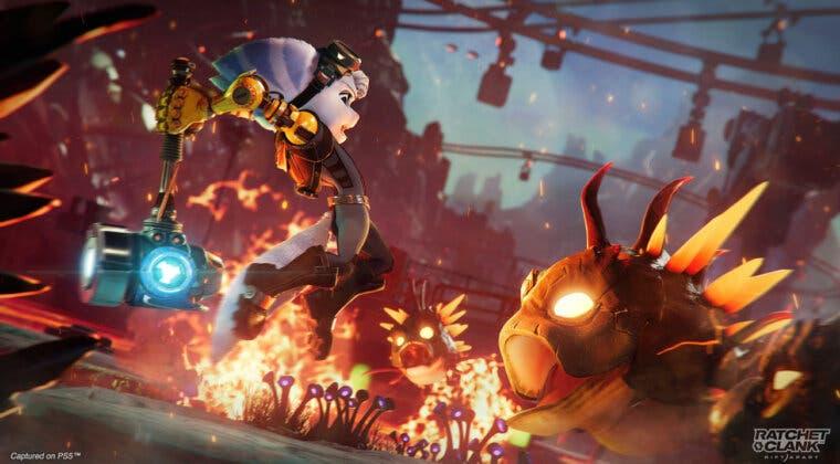 Imagen de Descubre 7 minutos de gameplay de Ratchet & Clank: Una dimensión aparte a 4K en PS5