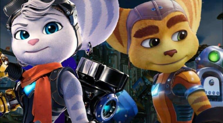 Imagen de Ratchet & Clank: Una dimensión aparte; así funcionan el mundo abierto y el uso conjunto de Ratchet y Rivet