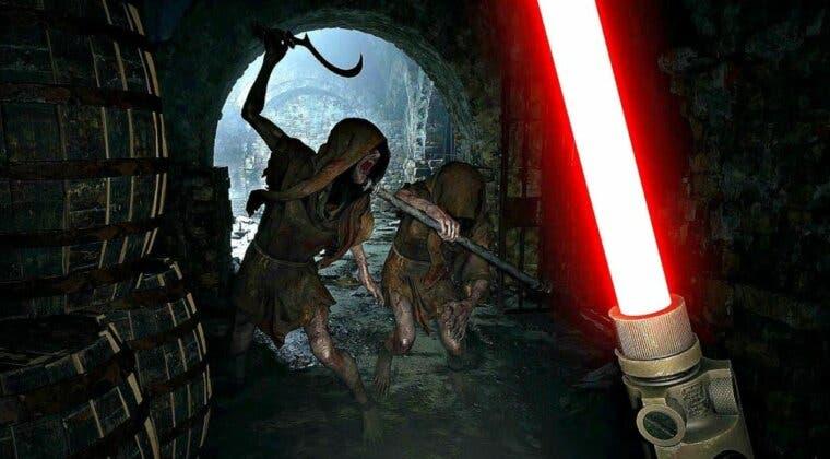 Imagen de Cómo obtener y usar el arma LZ Answerer, la espada láser de Resident Evil Village