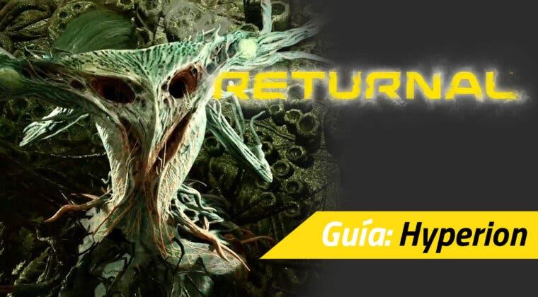 Imagen de Cómo vencer fácilmente a Hyperion, el cuarto jefe de Returnal: ataques, armas y más
