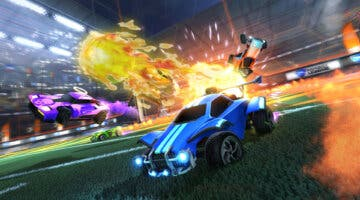 Imagen de Jugador de Rocket League enseña cómo realizar un complicado pero imparable tiro aéreo