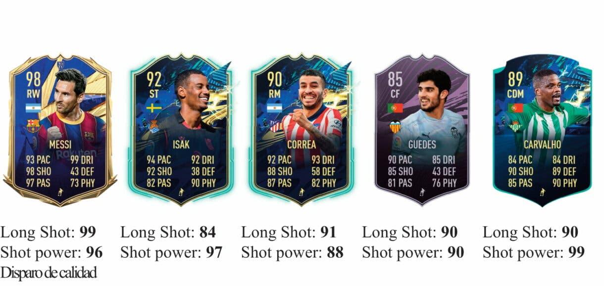 FIFA 21 Icon Swaps: los mejores jugadores de la Liga Santander para marcar desde fuera del área Ultimate Team 1