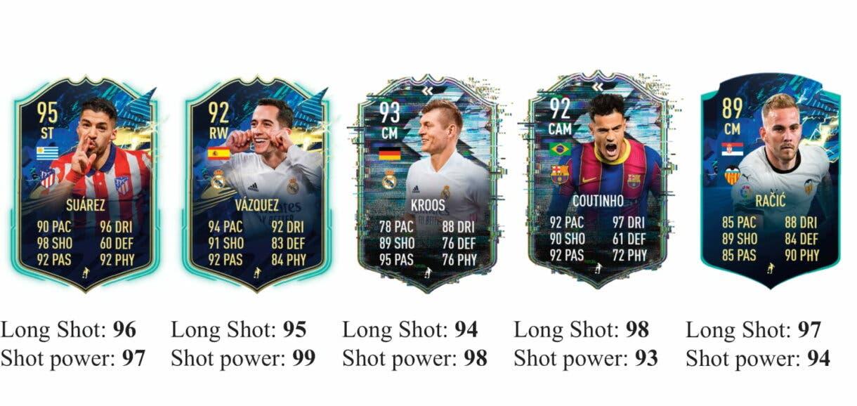 FIFA 21 Icon Swaps: los mejores jugadores de la Liga Santander para marcar desde fuera del área Ultimate Team 4