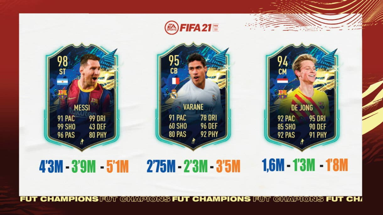 FIFA 21: ¿Qué TOTS de Liga Santander y Superliga de Turquía elijo en las recompensas de FUT Champions? Ultimate Team nivel 1