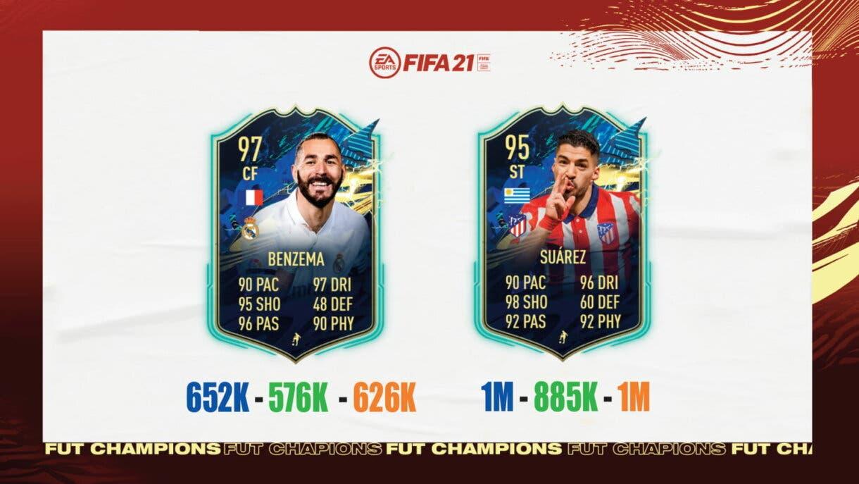 FIFA 21: ¿Qué TOTS de Liga Santander y Superliga de Turquía elijo en las recompensas de FUT Champions? Ultimate Team nivel 2