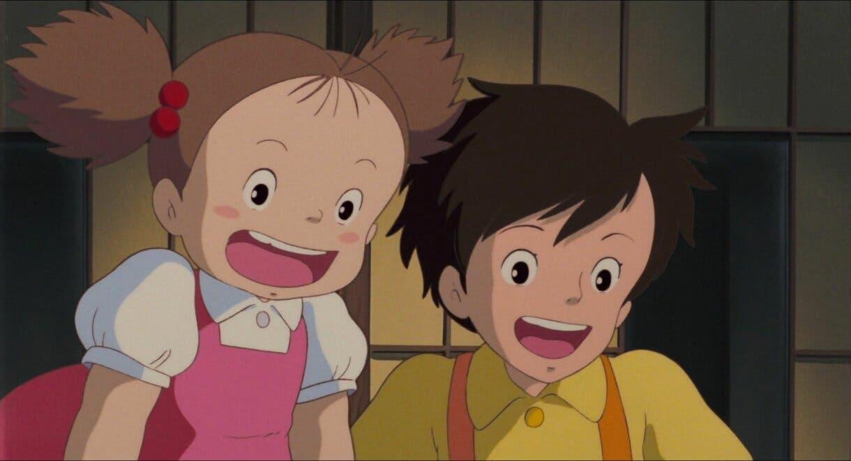 Satsuki y Mei Studio Ghibli