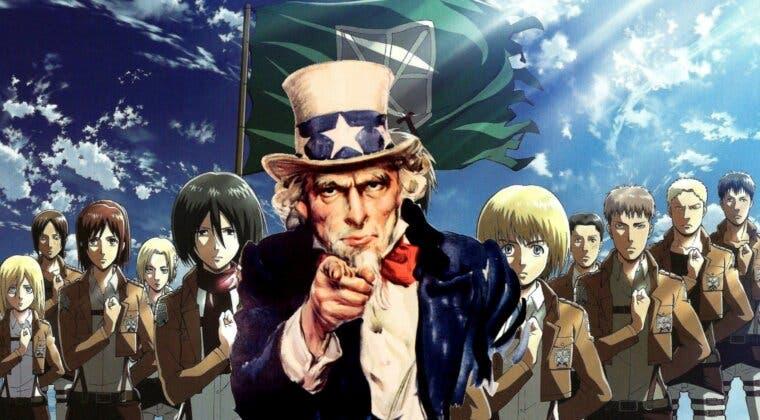 Imagen de Shingeki no Kyojin evoca al 'Tío Sam' en un nuevo póster por su final