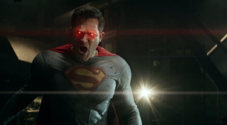 Imagen de Tyler Hoechlin, como una bestia en Superman & Lois sin ir al gimnasio