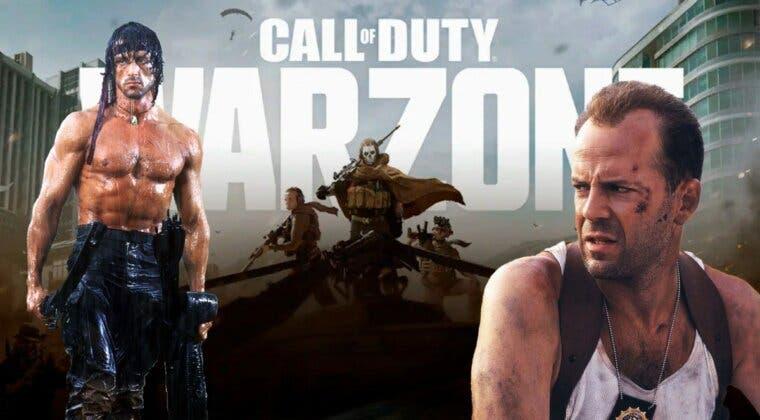 Imagen de Warzone: se filtran las primeras imágenes de Rambo y John McClane como operadores en el juego