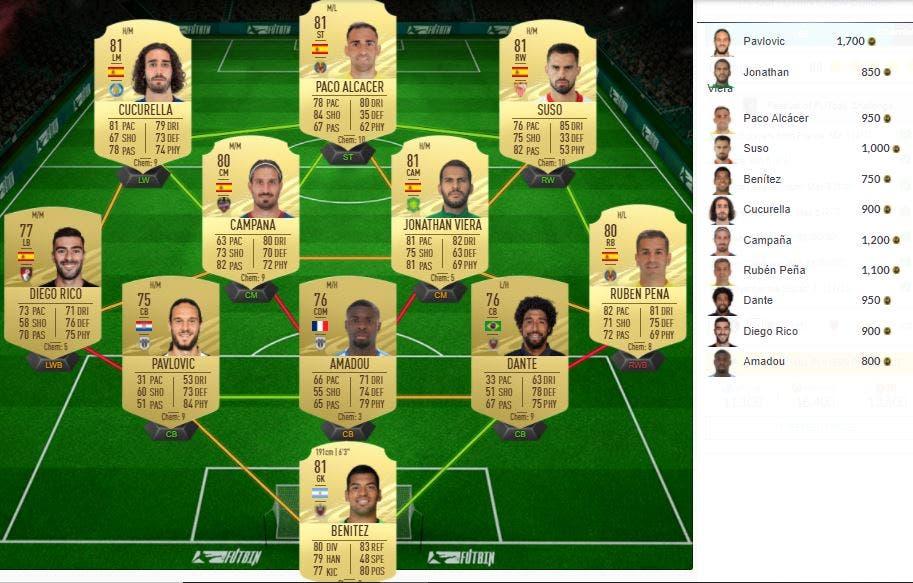 FIFA 21 Ultimate Team SBC Festival of FUTball FOF