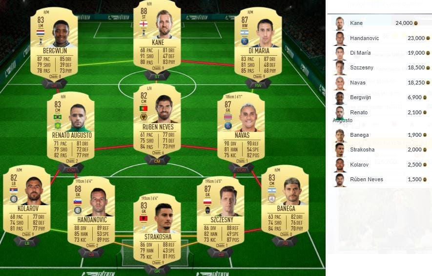 FIFA 21 Ultimate Team SBC Hateboer Jugador de Nación Países Bajos