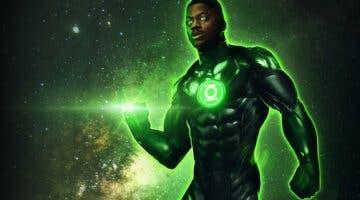 Imagen de Snyder Cut: Linterna Verde visita a Bruce Wayne en este espectacular concept art