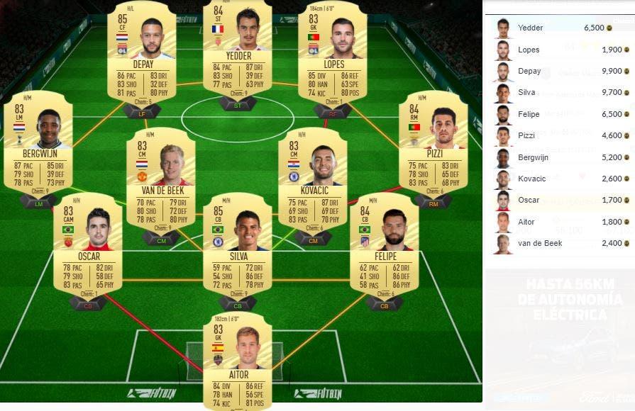 FIFA 21 Ultimate Team SBC Gimenez FOF