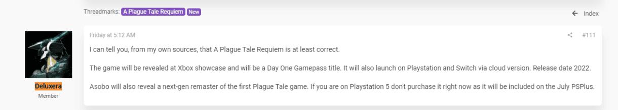 a plague tale filtra