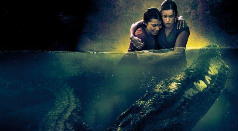 Imagen de Abismo, la película sobre cocodrilos hambrientos que triunfa en Amazon Prime Video