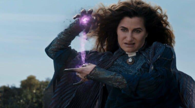 Imagen de Bruja Escarlata y Visión: originalmente, Agatha iba a ser la mentora de Wanda