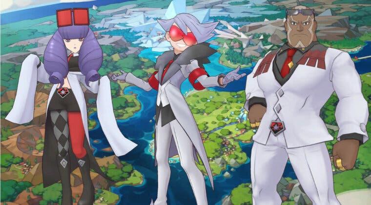 Imagen de Pokémon Masters EX inicia un evento de Alik, Serra y Néstor