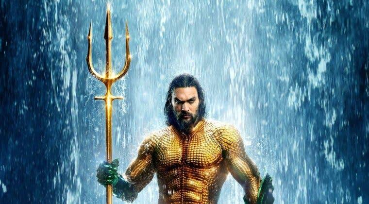 Imagen de Aquaman 2 ya tiene título oficial y posible logo
