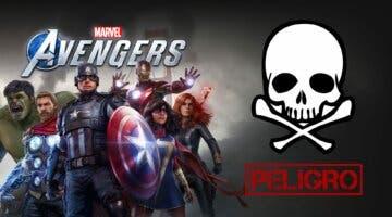 Imagen de Marvel's Avengers cuenta en estos momentos con un bug peligroso para tu seguridad online