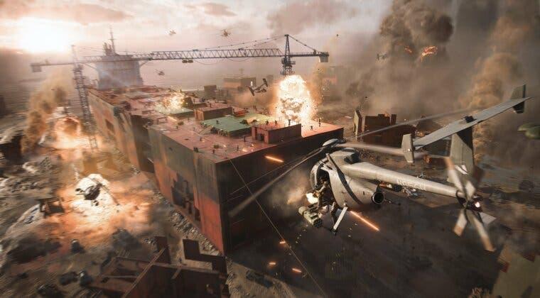 Imagen de La narrativa del cambio climático de Battlefield 2042 no es una crítica social, según DICE