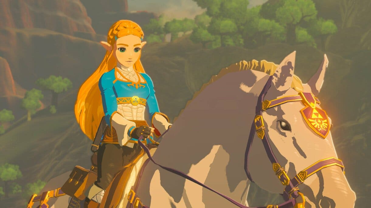 Breath of the Wild Zelda caballo