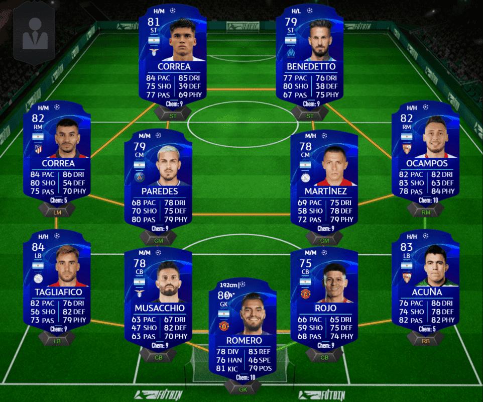 FIFA 21 Ultimate Team Icon Swaps consigue los tokens offline de la tercera tanda en la mitad de tiempo. Argentina UCL