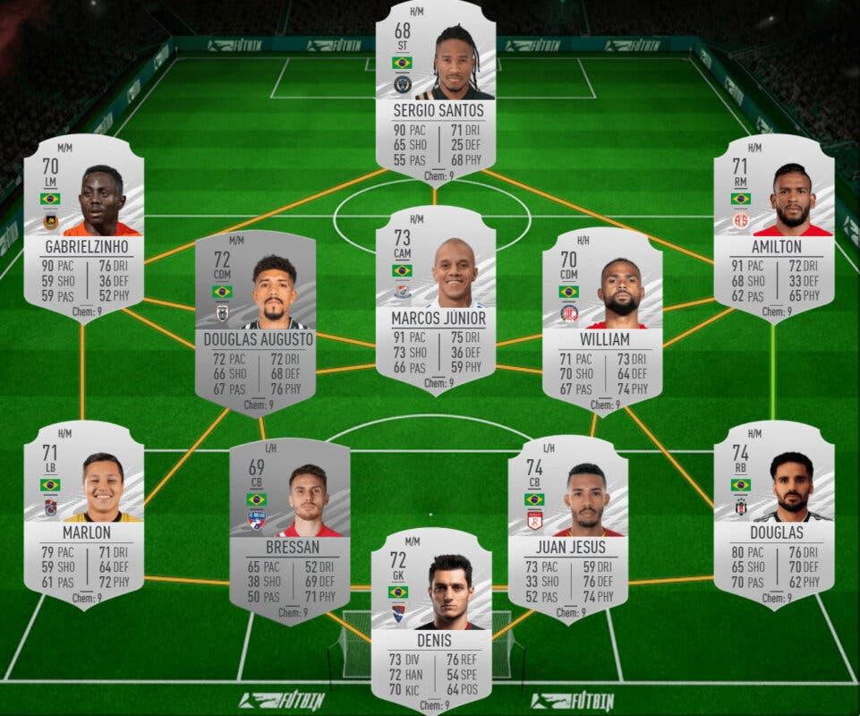 FIFA 21 Ultimate Team Icon Swaps consigue los tokens offline de la tercera tanda en la mitad de tiempo. Brasil plata