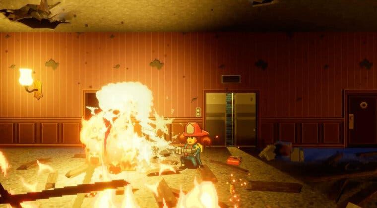 Imagen de Guerrilla Collective nos presenta Firegirl, un espectacular roguelite con sabor retro