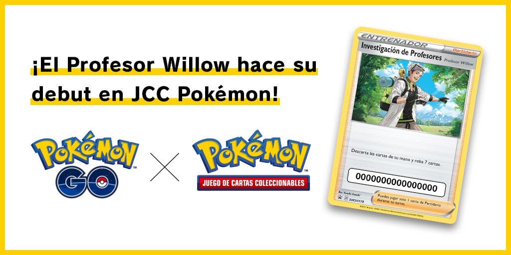 carta del Profesor Willow JCC Pokemon
