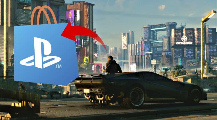 Imagen de Cyberpunk 2077 parece estar de vuelta: ya se puede ver en la PS Store de PS4 y PS5, pero de forma extraña