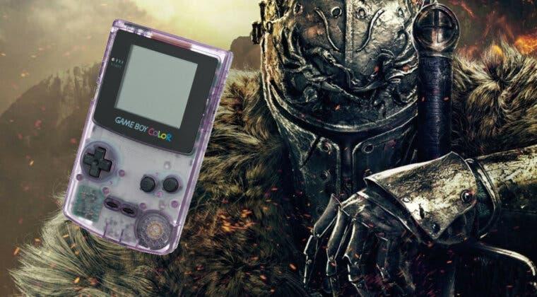 Imagen de Dark Souls en Game Boy Color; así es el increíble pixel art de un artista