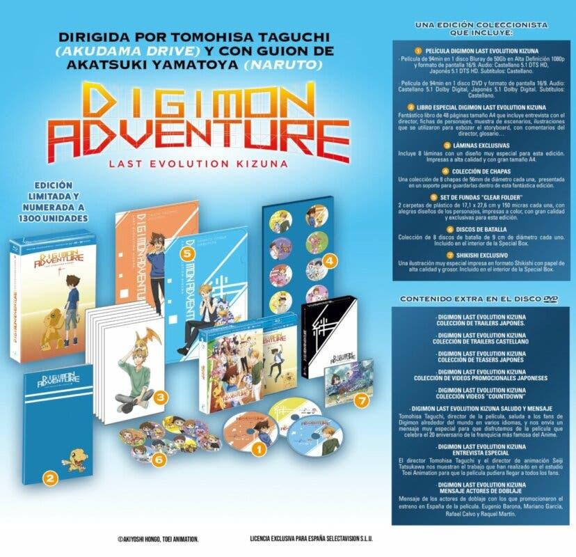 Digimon Adventure Last Evolution Kizuna Edicion Coleccionista