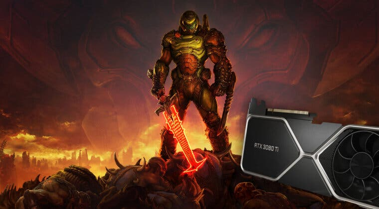 Imagen de DOOM Eternal recibe ray tracing y lo muestra en este espectacular gameplay en una 3080 Ti