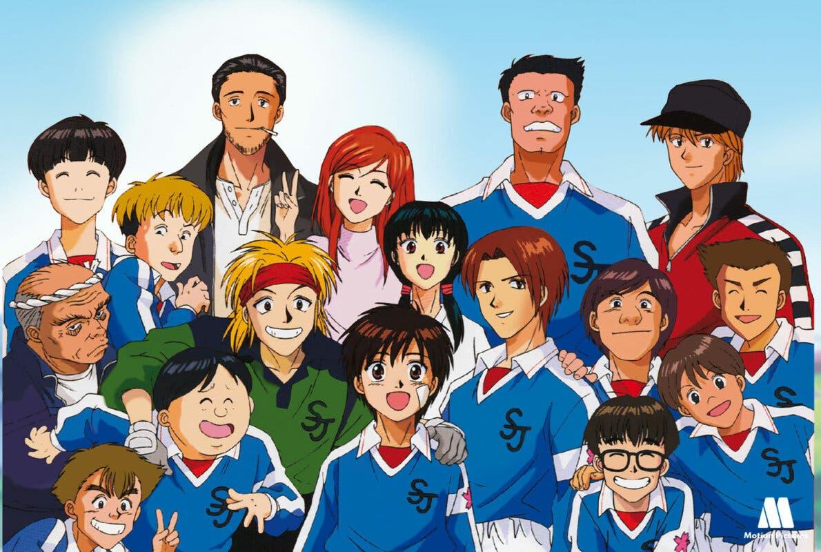 Dream Team anime
