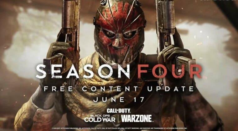 Imagen de Fecha y hora para el estreno de la temporada 4 en Call of Duty: Warzone y Black Ops Cold War
