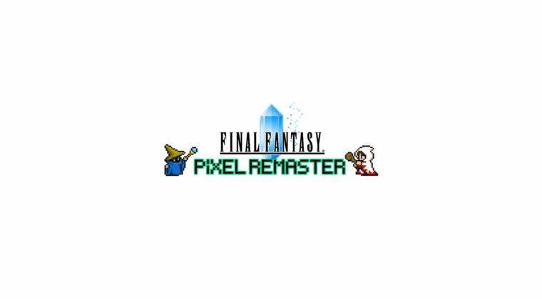 Imagen de Square Enix anuncia Final Fantasy Pixel Remaster: La remasterización de los clásicos de la saga